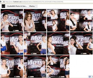 ประกวด Miss Motor Show 2013