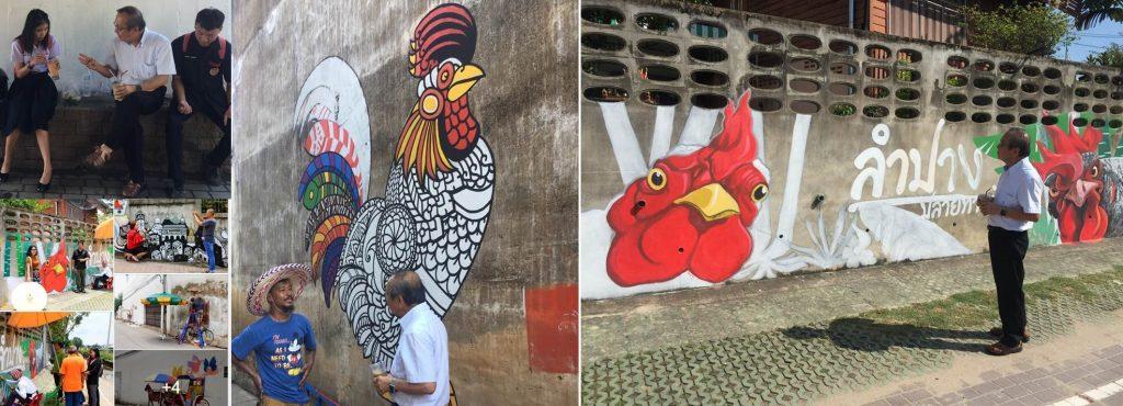 street art กาดกองต้า 2561
